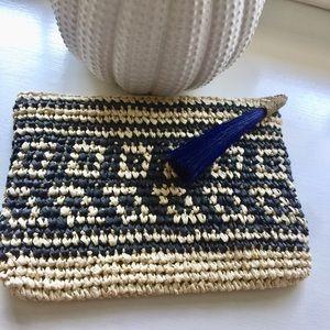 Handbags - Straw Boho Summer Clutch